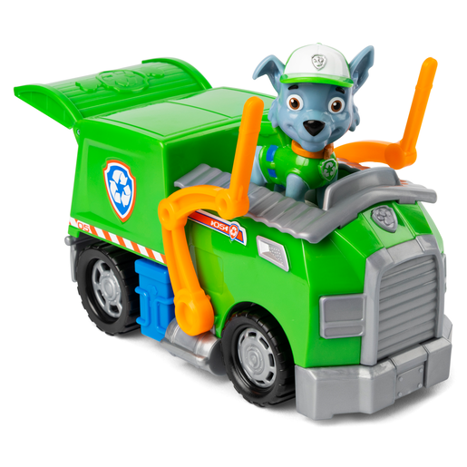 Picture of Paw Patrol Figure and Vehicle - Rocky and Recycle Truck