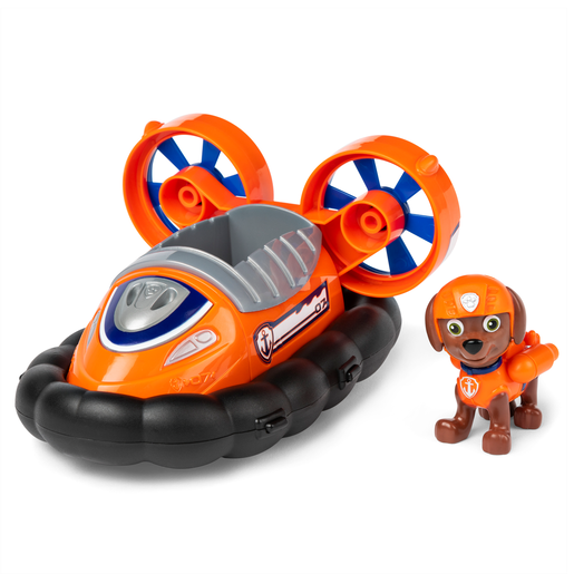 Picture of Paw Patrol Figure and Vehicle - Zuma and Hovercraft