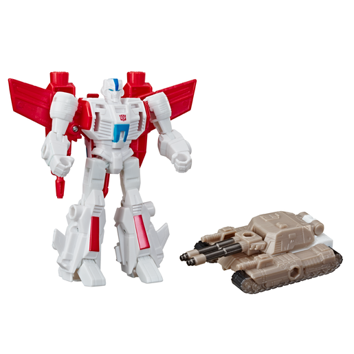 Picture of Transformers Cyberverse Battle - Jetfire and Tank Cannon