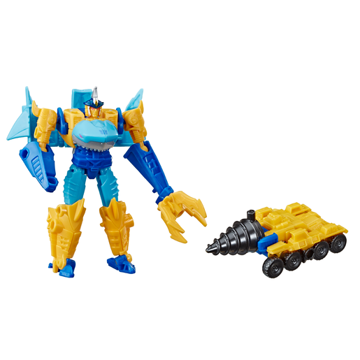 Picture of Transformers Cyberverse Battle - Skye-Byte and Driller Drive