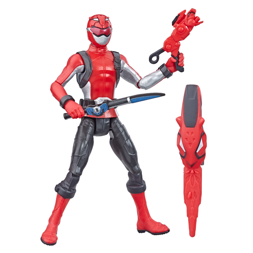 Picture of Power Rangers Beast Morphers Figures - Red Ranger