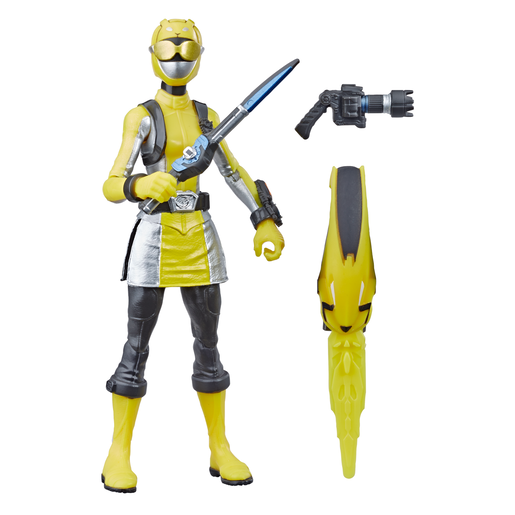 Picture of Power Rangers Beast Morphers Figures - Yellow Ranger