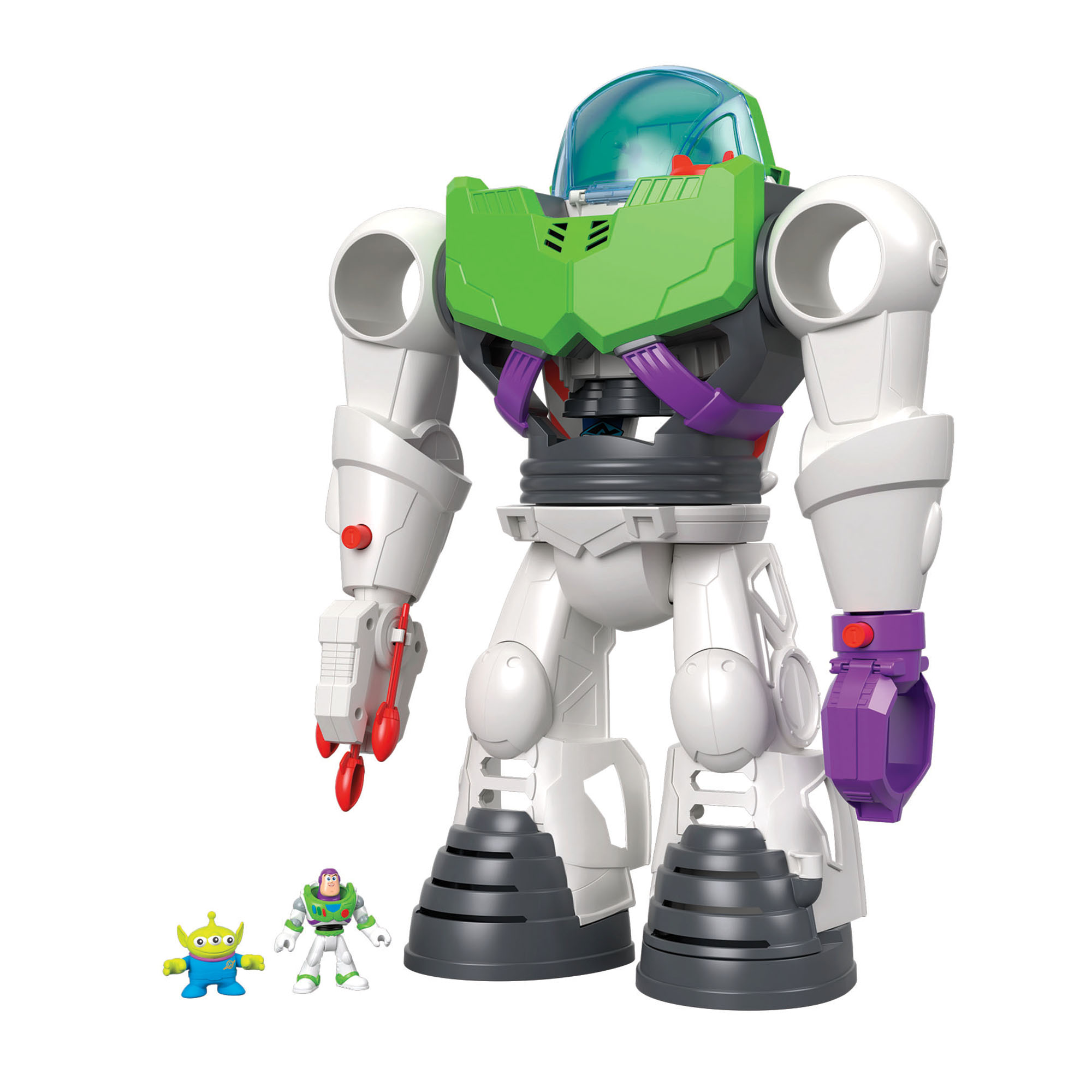 Picture of Imaginext Toy Story 4 Buzz Lightyear Robot Playset