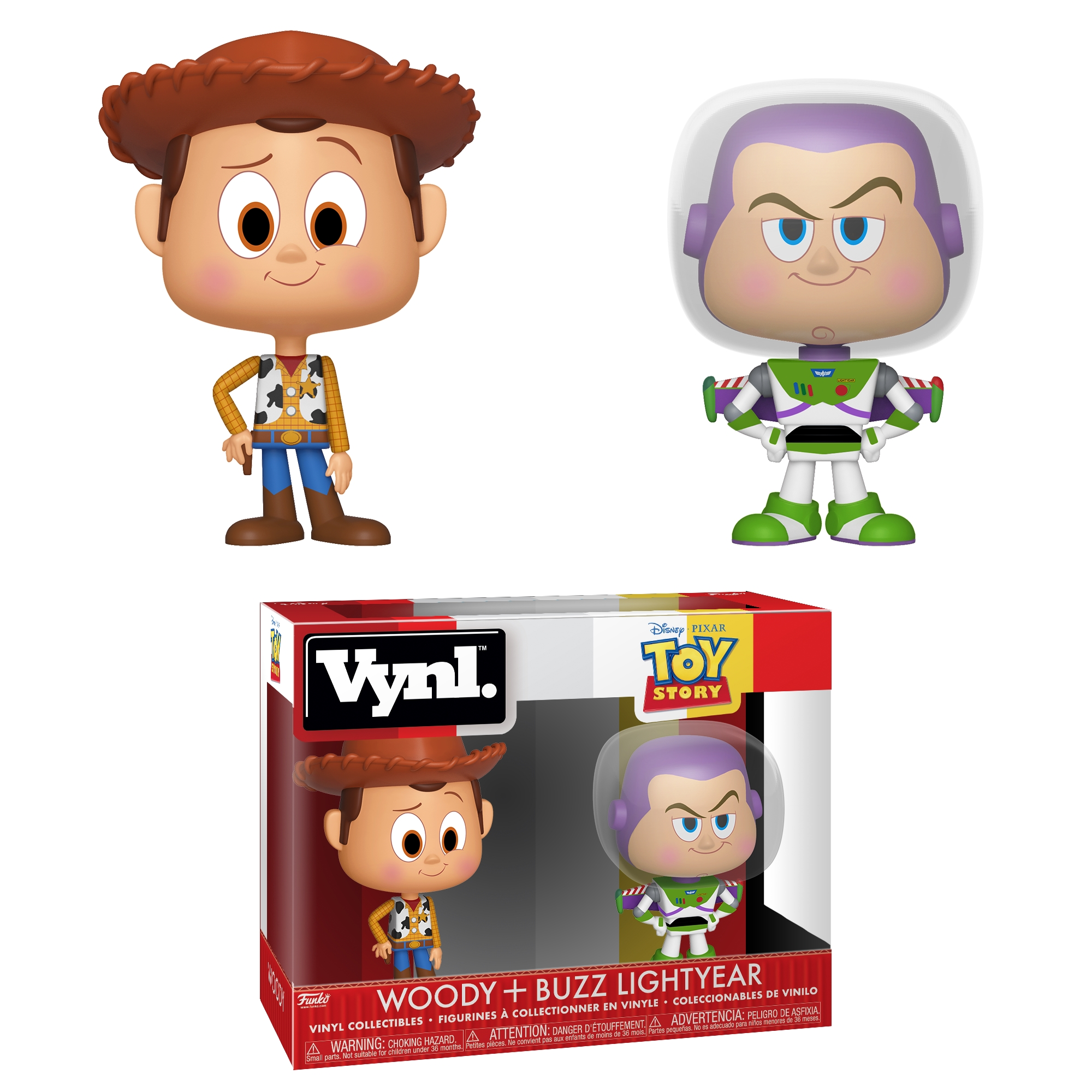 Picture of Toy Story - Woody and Buzz Vinyl figures
