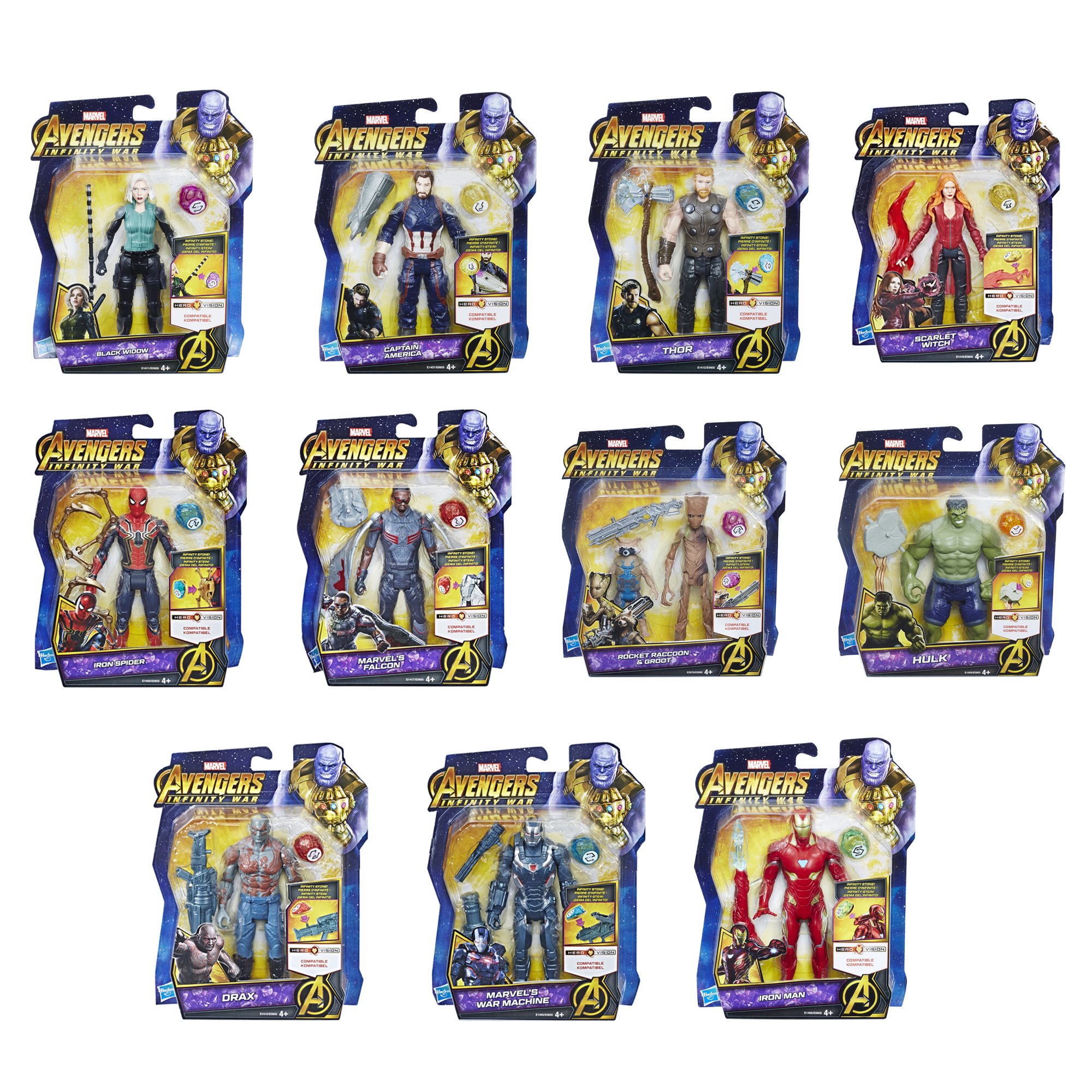 Picture of Avengers Infinity War Film Assorted Pack - Small