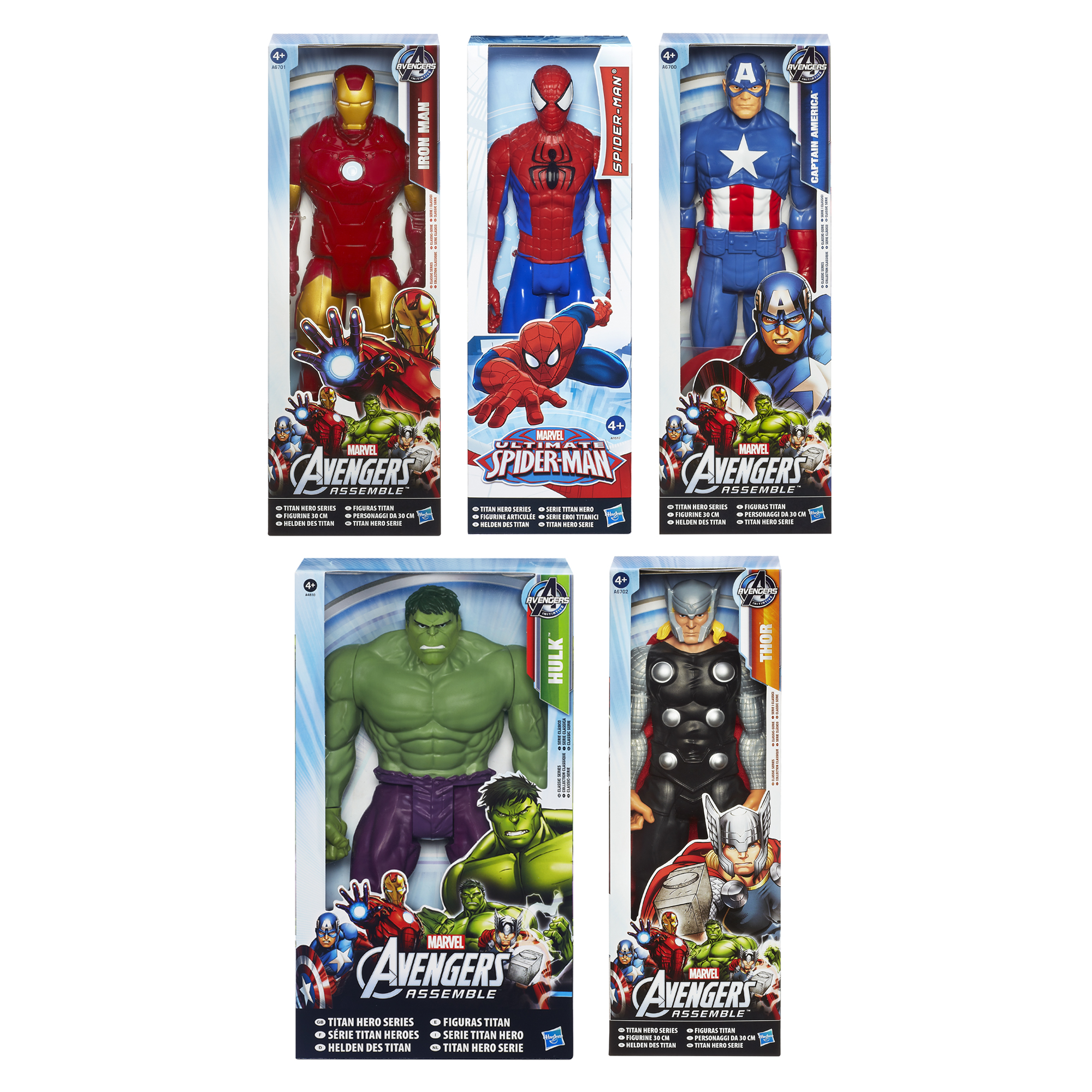 Picture of Titan Hero Series Spider-Man figure Assortment Pack
