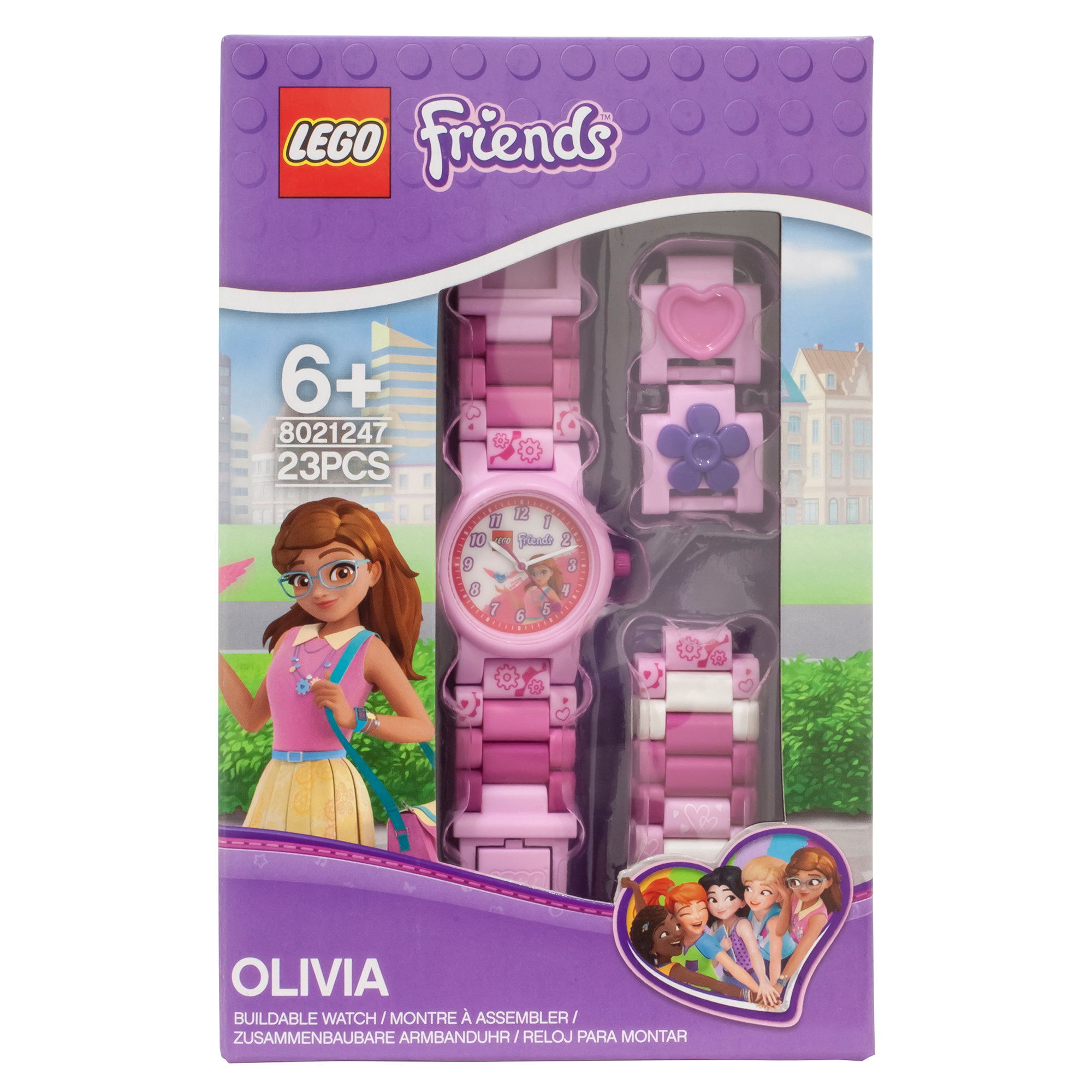 Picture of LEGO Friends Olivia Buildable Watch with Link Bracelet