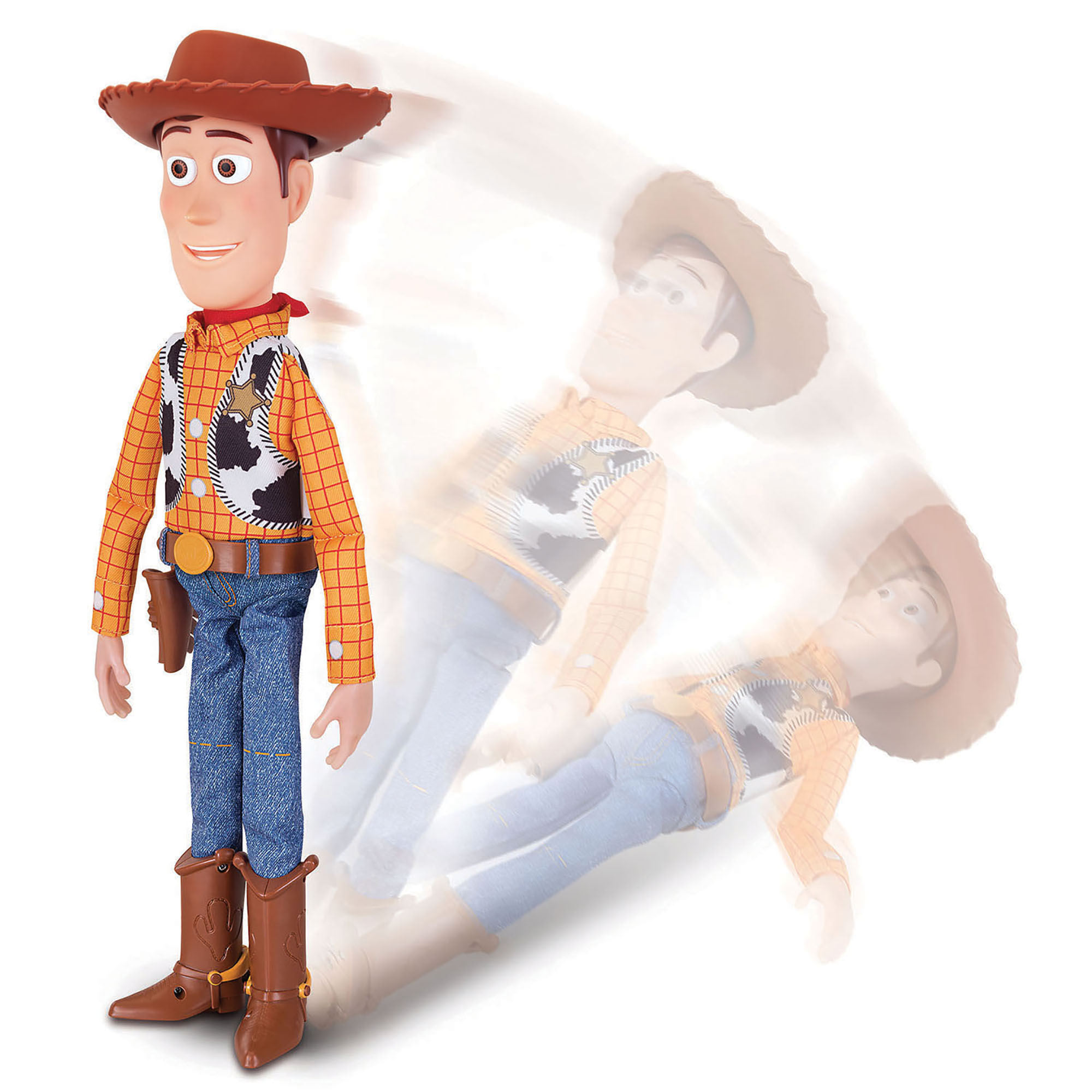 Picture of Toy Story 4 Sheriff Woody w/ Interactive Drop-Down Action