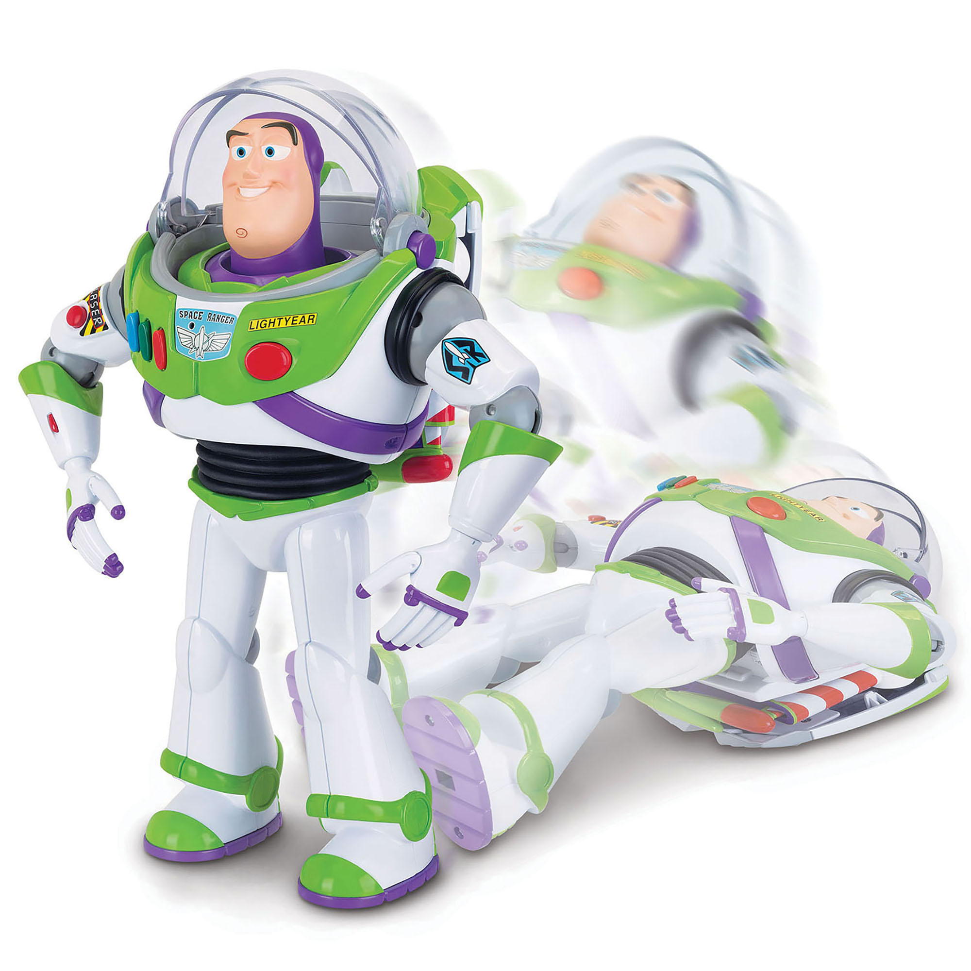 Picture of Toy Story 4 Buzz Lightyear w/ Interactive Drop-Down Action