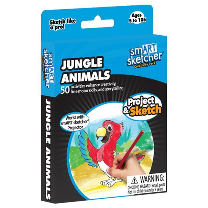 Picture of Smart Sketcher Creativity Pack - Jungle Animals