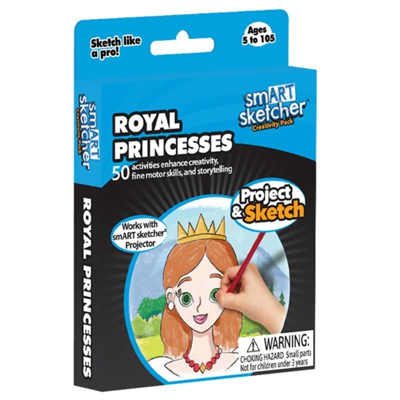 Picture of Smart Sketcher Creativity Pack - Royal Princesses
