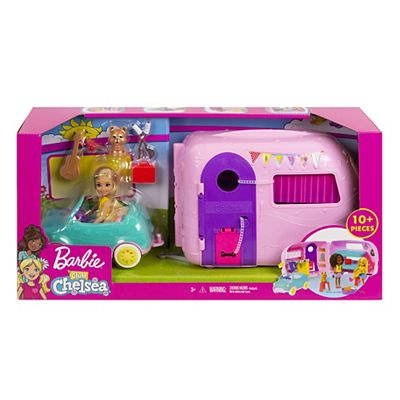 Picture of Barbie Chelsea Camper With Doll And Car