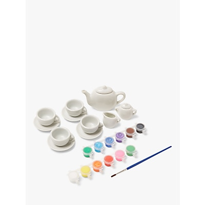 Picture of John Lewis & Partners Paint Your Own Tea Set
