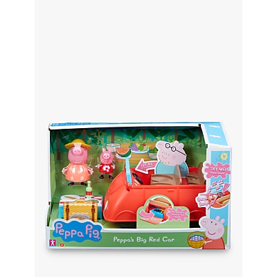Picture of Peppa Pig Peppa's Big Red Car