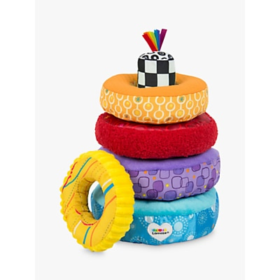 Picture of Lamaze Rainbow Rings Stacking Toy