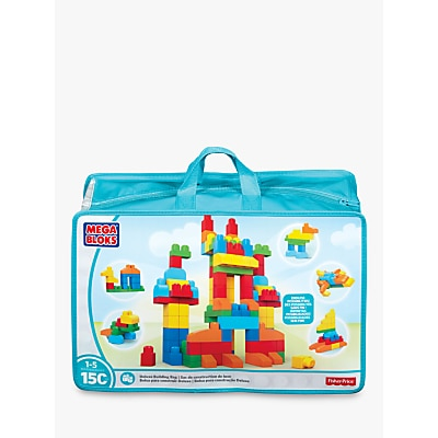 Picture of Mega Bloks First Builders Deluxe Building Bag