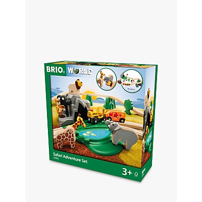 Picture of BRIO Wooden Safari Adventure Set