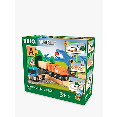 Picture of BRIO World 33878 Lift & Load Starter Set