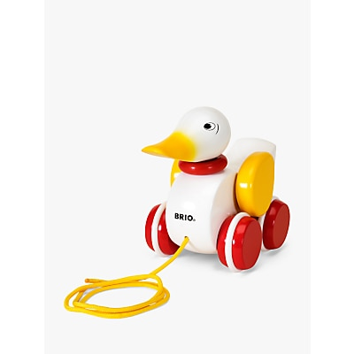 Picture of BRIO Pull Along White Duck