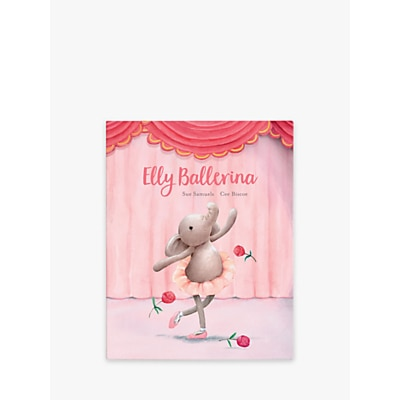 Picture of Jellycat Elly Ballerina Elephant Children's Book