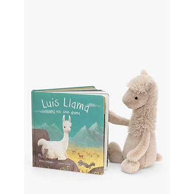 Picture of Jellycat Luis Llama Children's Book