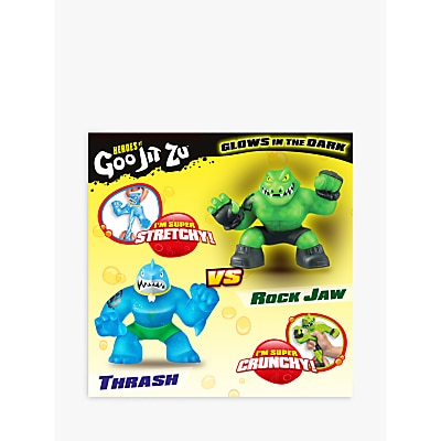 Picture of Heroes of Goo Jit Zu Thrash and Rock Jaw Versus Squishy Action Figures