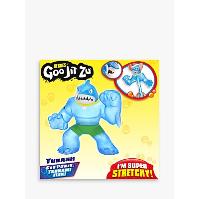 Picture of Heroes of Goo Jit Zu Thrash the Shark Squishy Action Figure