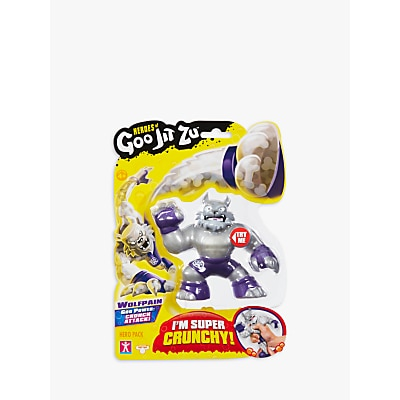 Picture of Heroes of Goo Jit Zu Wolfpain the Wolf Squishy Action Figure