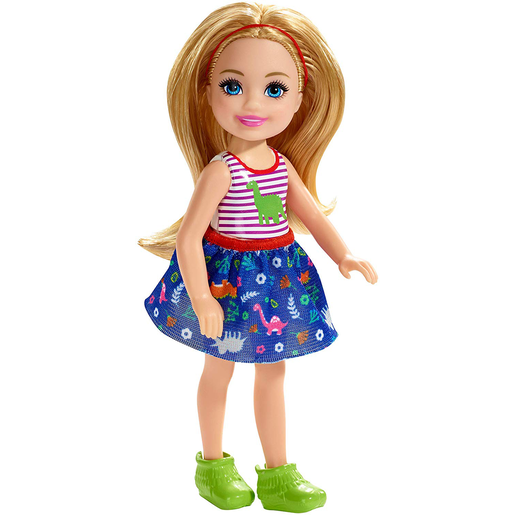 Picture of Barbie Club Chelsea 15cm Boy Doll - Dinosaur Theme Outfit