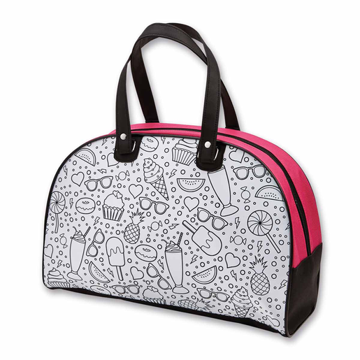 Picture of Out To Impress Colour Your Own Sleepover Bag