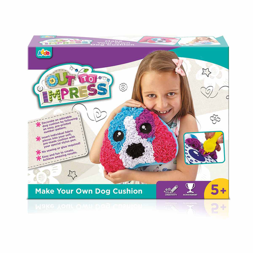 Picture of Out To Impress Make Your Own Cushion - Dog