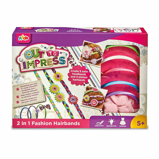 Picture of Out To Impress 2 in 1 Fashion Hairbands