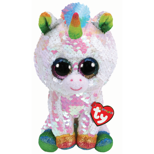 Picture of Ty Flippables 23cm Soft Toy - Pixy The Unicorn