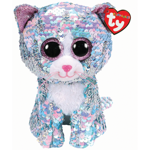 Picture of Ty Flippables 23cm Soft Toy - Whimsy The Cat
