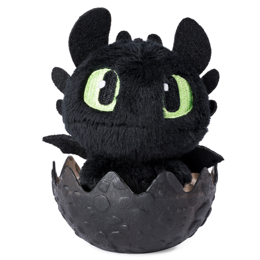 Picture of DreamWorks Dragons: Hidden World 8cm Plush Dragon - Toothless