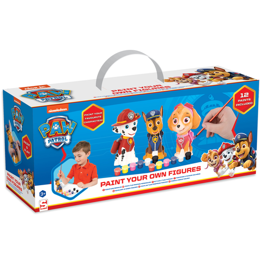 Picture of Paw Patrol - 3 Pack Paint Your Own Figure