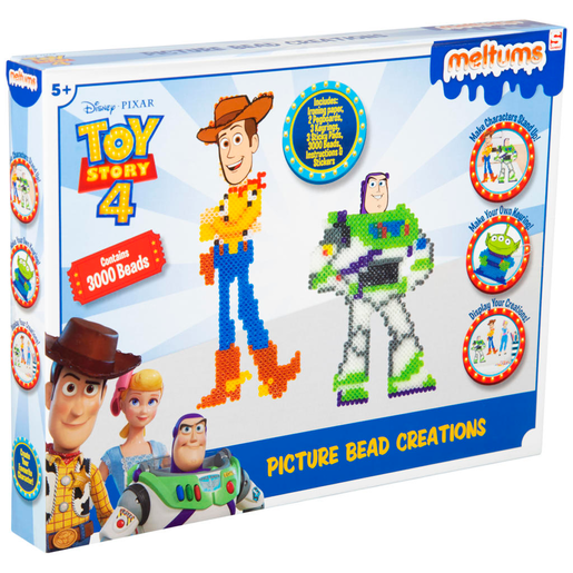 Picture of Disney Pixar Toy Story 4 Meltums Picture Bead Creations
