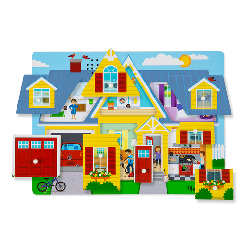 Picture of Melissa and Doug Around the House Sound Puzzle
