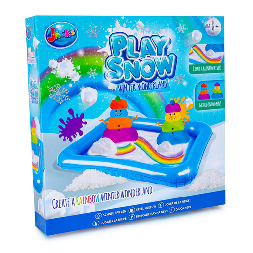 Picture of Jack's Play Snow Winter Wonderland - Create a Rainbow