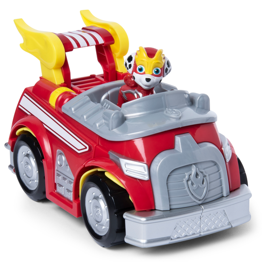 Picture of Paw Patrol Mighty Pups Super Paws Marshall's Powered Up Firetruck