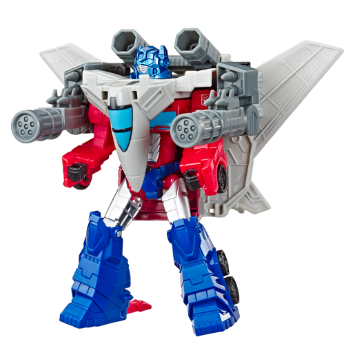 Picture of Transformers Cyberverse Power Of The Spark - Optimus Prime and Sky Turbine