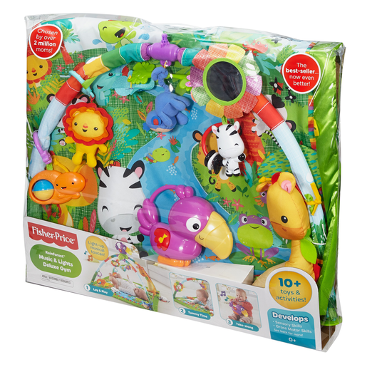 Picture of Fisher Price Rainforest Music and Lights Deluxe Gym