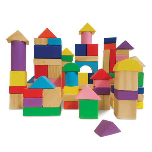 Picture of Woodlets 80 Piece Building Blocks