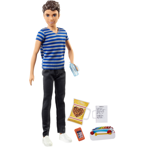 Picture of Barbie Skipper Babysitter Doll and Accessories - Ken