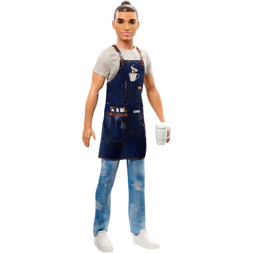 Picture of Barbie Ken Career Doll - Barista