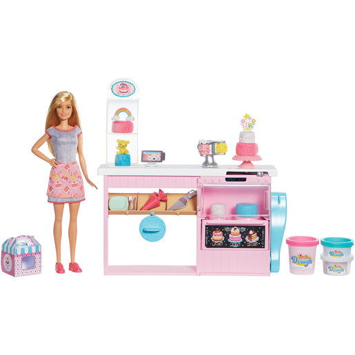 Picture of Barbie You Can Be Anything Cake Decorating Playset