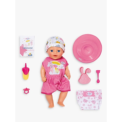 Picture of Zapf Baby Little Girl Doll