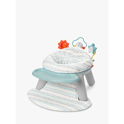 Picture of Skip Hop 2-in-1 Activity Snack Floor Seat, Silver Lining Cloud