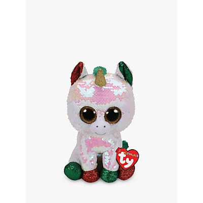 Picture of Ty Flippables Stardust Unicorn Soft Toy