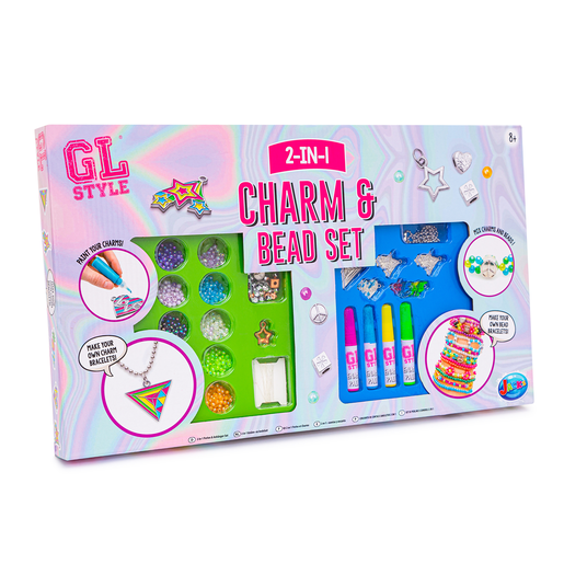 Gl Style 2 In 1 Charm And Bead Set From